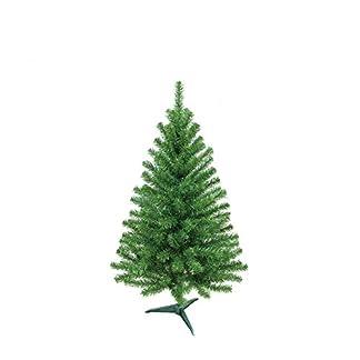 MCTECH 60 cm PVC Árbol de Navidad Artificial Blanco Árbol de Navidad Blanco Árbol de Decoración con Soporte (60 cm)