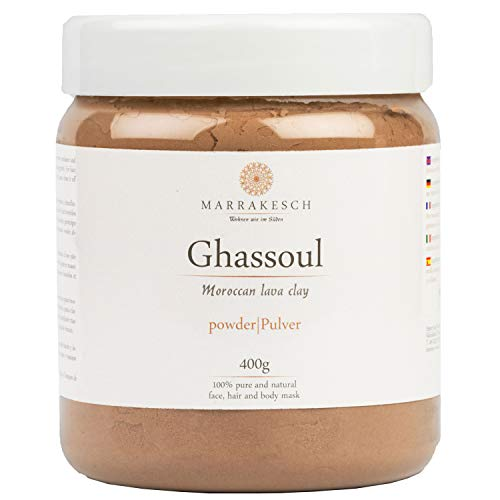 Ghassoul Rhassoul Polvo 400g | Arcilla roja marroquí