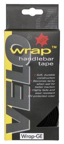 Velo Gel Cork Handlebar Tape - Black by Velo -