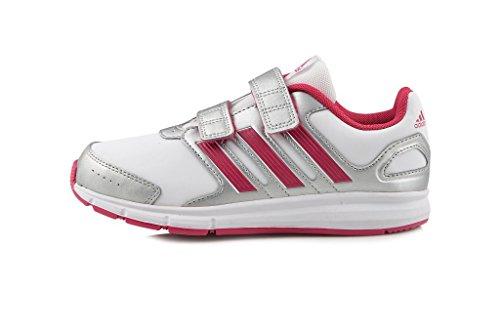 adidas Lk Sport Cf K Mädchen Laufschuhe Weiß - Blanc (Blaess/Rosecl/Argmet)