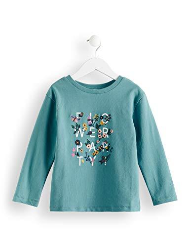 RED WAGON Mädchen Sweatshirt, Blau (Teal), 134 (Herstellergröße: 9)
