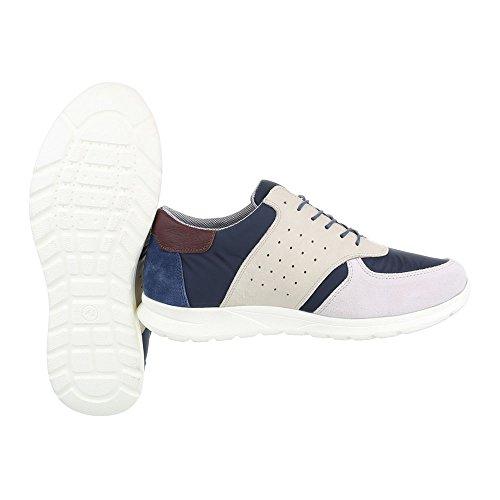 Sneakers blu per uomo Ital Design QQ17UhT