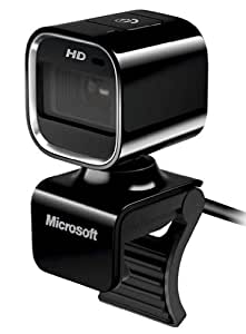 Microsoft 7PD-00010 LifeCam HD-6000 Webcam HD pour Notebook Noir