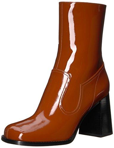 Marc Jacobs Frauen Ross rechtwinklige Spitze Fashion Stiefel Braun Groesse 8.5 US /39.5 EU
