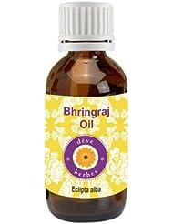 Deve Herbes Pure Bhringraj Oil 50ml (Eclipta alba) 100% Natural Cold presssed & Therapeutic Grade