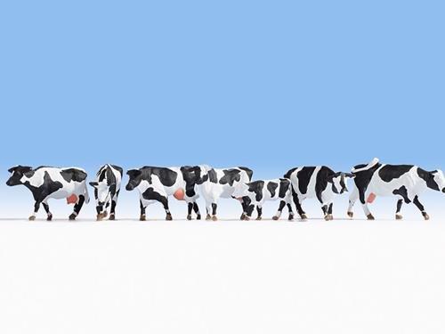NOCH Diseño de Vaca, Color Blanco y Negro.