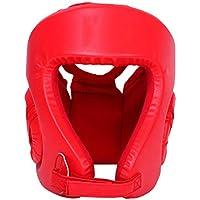 FBEST Casco de Boxeo Tipo Cerrado Cabeza de Boxeo Protector de Cabeza Protector para la Cara Se Adapta a MMA Muay Thai Kickboxing Brace Protección para la Cabeza,L