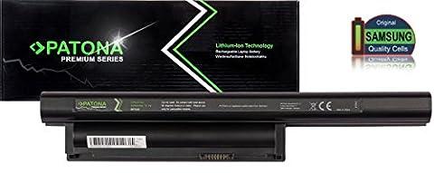PATONA Premium Laptop Akku mit (5200mAh Samsung inside) für Sony Vaio VGP-BPL26 VGP-BPS26 VGP-BPS26A (ragt nicht über das Gehäuse hinaus!)