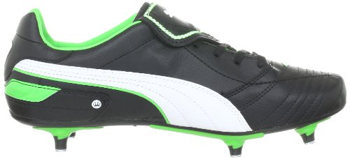 Puma Esito Finale SG 102007 Herren Sportschuhe - Fußball Schwarz (black-white-fluro green 07)