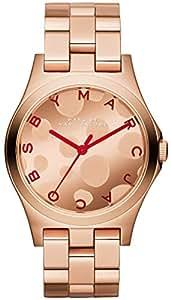 Horloge Quartz Marc Jacobs Écran analogique bracelet acier inoxydable et cadran MBM3268_ -