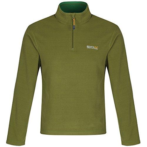 Regatta Thompson, Herren-Sweatshirt aus Fleece Seal Grey
