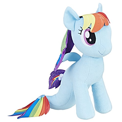 Hasbro My Little Pony Cuddly Plüsch Rainbow Dash Sea Pony (Plüsch Dash Rainbow)