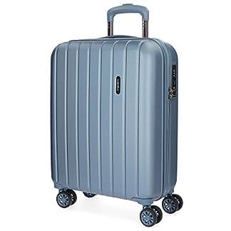 Movom Wood 5319163 Equipaje de Mano, 55 cm, 43 Litros, Azul