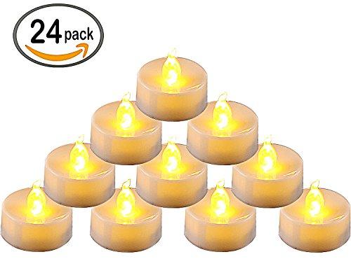 homemory-pack-of-24-flameless-led-tea-light-amber-yellow-flickering-bulb-long-lasting-battery-operat