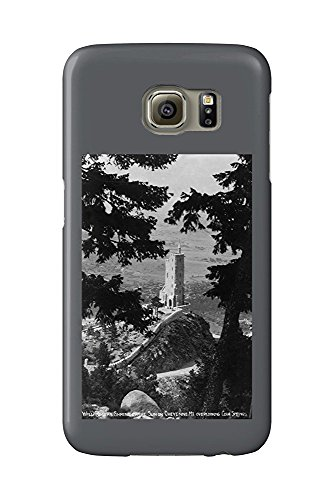 Colorado Springs, Colorado - View of the Will Rogers Shrine of the Sun on Cheyenne Mt. (Galaxy S6 Cell Phone Case, Slim Barely There) -