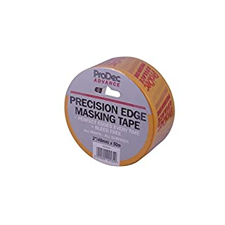 ProDec atmt003 50 mm Advance Precision Edge Masker Tape – gelb