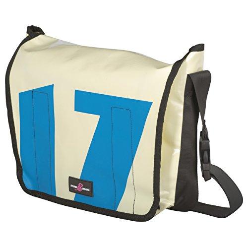 a9fd11dcacbc8 Sturm   Drang – Maxi borsa messenger bag in tela cerata