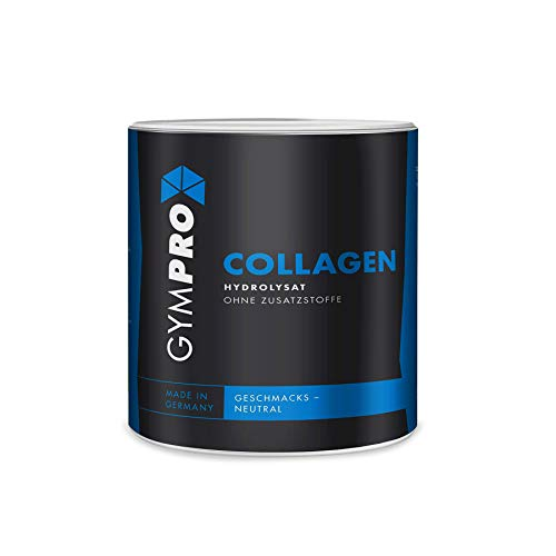 GymPro Collagen Protein Pulver (360g) Hydrolysat, Kollagen Made in Germany - Laborgeprüft