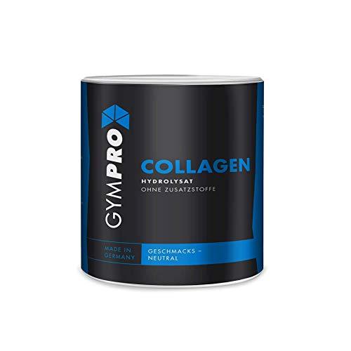 GymPro Collagen Protein Pulver (360g) Hydrolysat, Kollagen Made in Germany - Laborgeprüft -
