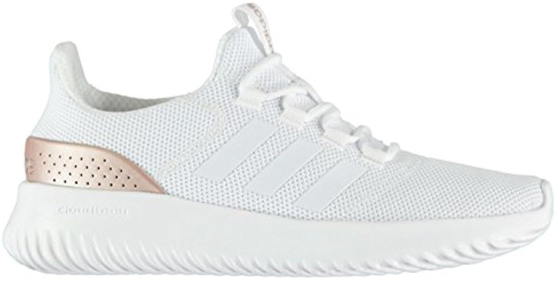 Official Shoes 'Adidas Schuh CLOUDFOAM-Laufschuhe/Sneakers, Weiß/Gold, Weiß/Gold, (UK6) (EU39.3) (US7.5)
