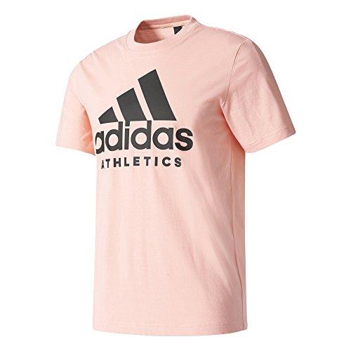 adidas Herren Sid Branded Tee Shirt, Grau Mehrfarbig/Suabri