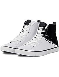 Calvin Klein Jeans Herren Schuhe Ajax Nylon Flocking S0495 Sneakers