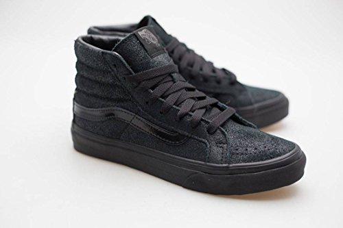 Vans Unisex-Erwachsene Sk8-Hi Slim Hohe Sneakers Schwarz