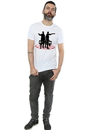 super.natural Supernatural Herren Sam and Dean Silhouette T-Shirt Weiß