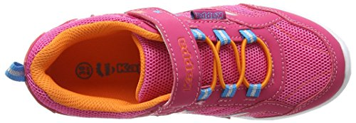 Kappa Cosmik, Baskets Basses Mixte Enfant Rose (Pink/orange)