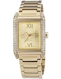 Esprit Collection Damen-Armbanduhr Xanthe Gold - Swiss Made Analog Quarz Edelstahl EL101202S08