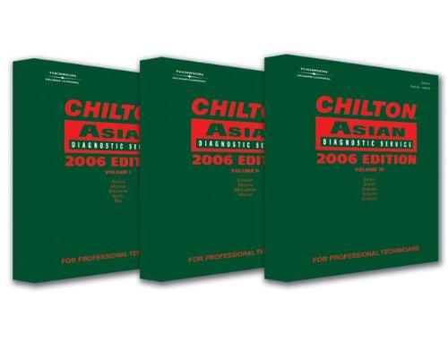 Chilton Asian Diagnostic Service (Chilton Asian Diagnostic Service Manuals)
