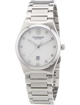 Victorinox Swiss Army Damen-Armbanduhr XS Classic Victoria Analog Quarz Edelstahl 241535