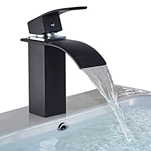 BONADE Elegant Monomando Grifo de Baño para lavabo Grifería de latón, Cromado