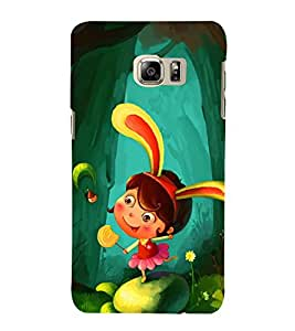 99Sublimation Princess Girl in Garden 3D Hard Polycarbonate Back Case Cover for Samsung Galaxy Note5 :: N920G :: N920T N920A N920I