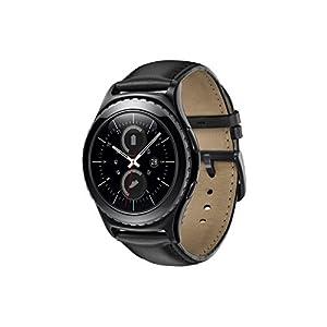"""Samsung Gear S2 Classic - Smartwatch (1.2"""", 512 MB de RAM, memoria interna de 4 GB, Tizen), color negro [Versión importada: Podría presentar problemas de compatibilidad]"""