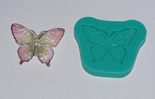 kbksiliconemoulds. Gomma di silicone Sugarcraft Stampi Cake Decorating resina Stampi Crafts Glassa cake toppers tazza farfalla a riposo