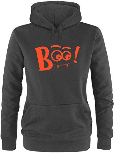 EZYshirt® Boo ! Damen Hoodie