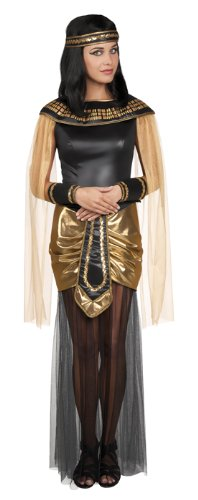 hsenen Kostüm Cleo, Gröߟe 40/42, mehrfarbig (ägyptischer Halsschmuck)