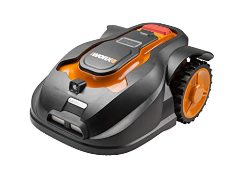 WORX WG796E 28 V 18 cm Landroid M Roboter-Rasenmäher mit II Smartphone Anwendung
