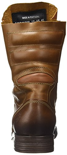 Fly London Damen STIF Biker Boots Braun (Camel 008)