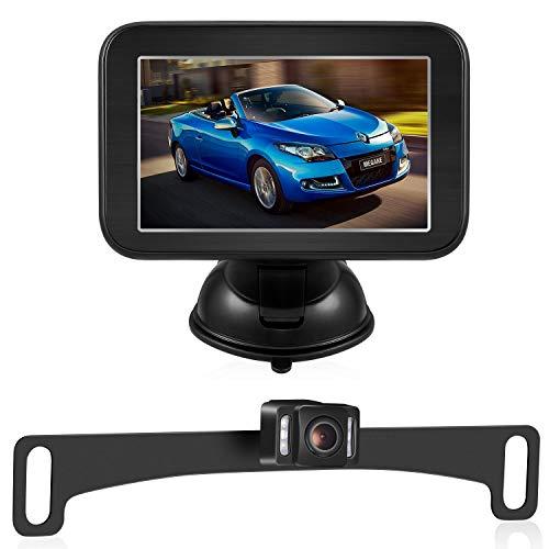 Trohestar Rückfahrkamera und Monitor Set, Wireless Einparkhilfe mit 5
