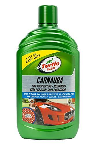 Turtle Wax FG7814 Green Line Cera de Carnauba para Coche, Verde, 500 ml