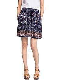 ESPRIT Damen Rock 056ee1d002-mit Schönem Muster