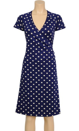 King Louie dell'abito party Polka CROSS DRESS jet blue Jet Blue