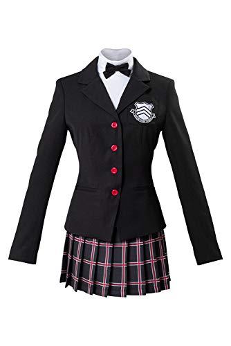 MingoTor Persona 5 The Royal Yoshizawa Kasumi Schuluniform Cosplay Kostüm Damen M