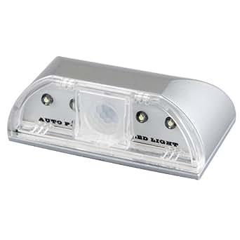 CroLED® PIR Lampe Capteur Infrarouge 4 LED Serrure Pr Sécurité
