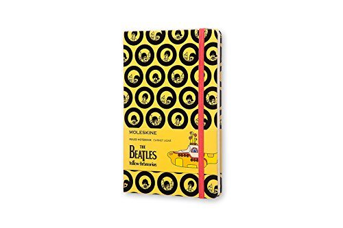 Moleskine The Beatles Large Ruled Limited Edition Notebook (Moleskine Limited Edition)