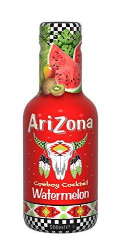 Arizona Original Iced Tea Bottle 500ml - Watermelon (Pack of 6)