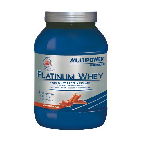 PLATINUM WHEY 750G - Multipower (Gusto Cioccolato)