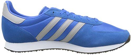 Scarpe Da Ginnastica Adidas Herren Zx Racer, Blau Blau (bluebird / Mgh Solid Gray / Ftwr White)